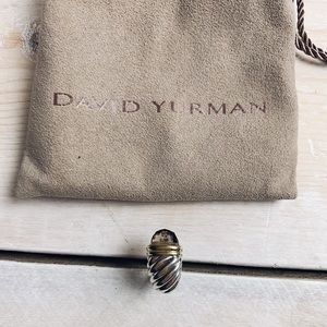 David Yurman | Smoky Quartz Shrimp Earclip 18K